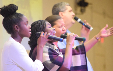 Worship Service at Freedom House Church International